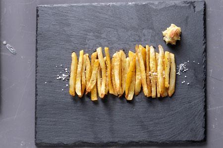 τηγανιτές πατάτες φούρνου