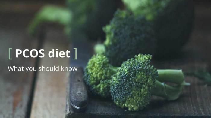 πολυκυστικές οωθήκες και διατροφή